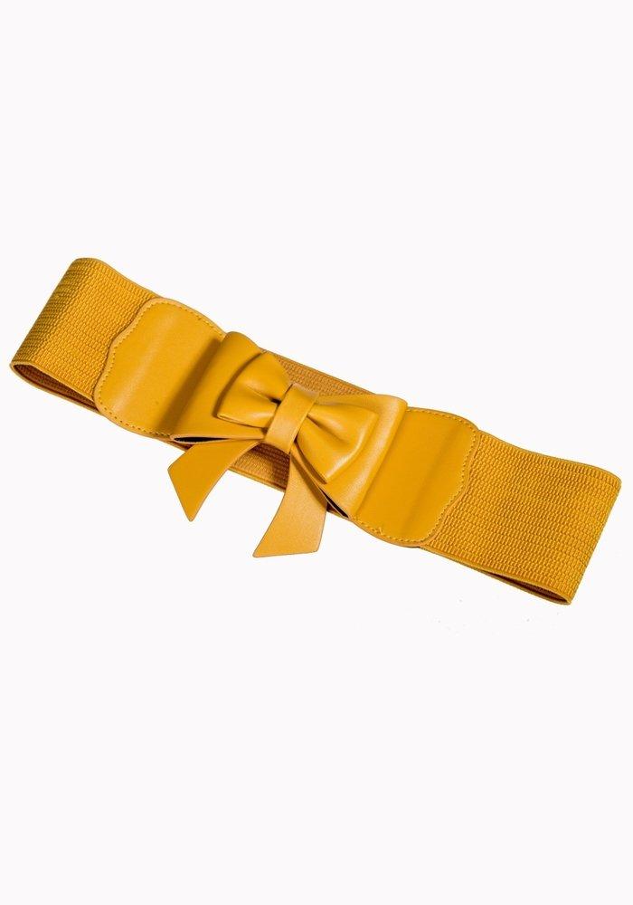 Play It Right Mustard Belt