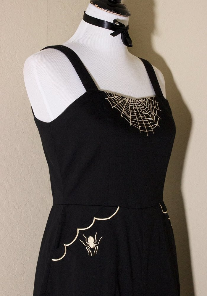 Glamour Ghoul Romper