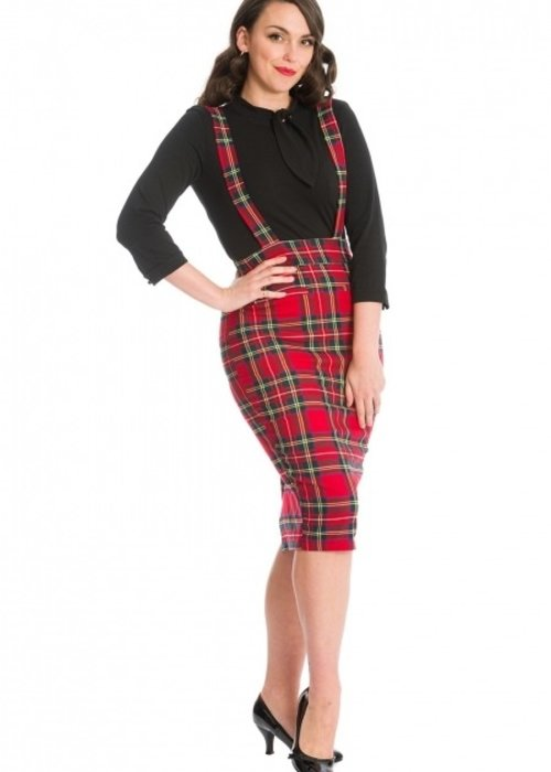 Banned Red Office Queen Skirt