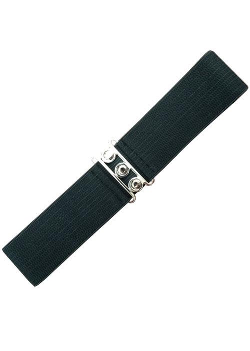 Banned Black Stretch Belt
