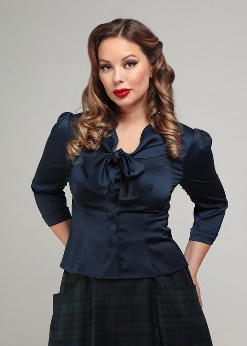 Collectif Blouse Andra Minuit