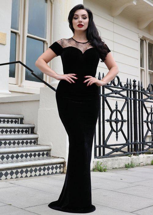 Collectif Maxi Arca Dark Queen Dress