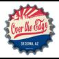 Over the Edge Sedona Bottle Cap Sticker