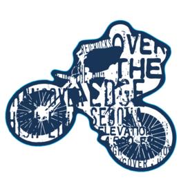Over the Edge Sedona Biker Sticker