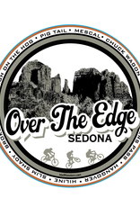 Over the Edge Sedona Cathedral Sticker