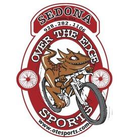 Over the Edge Sedona Oval Logo Sticker