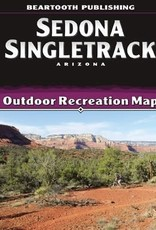 Beartooth Publishing Beartooth Publishing - Sedona Singletrack - Map