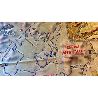 Manky - Sedona MTB Map