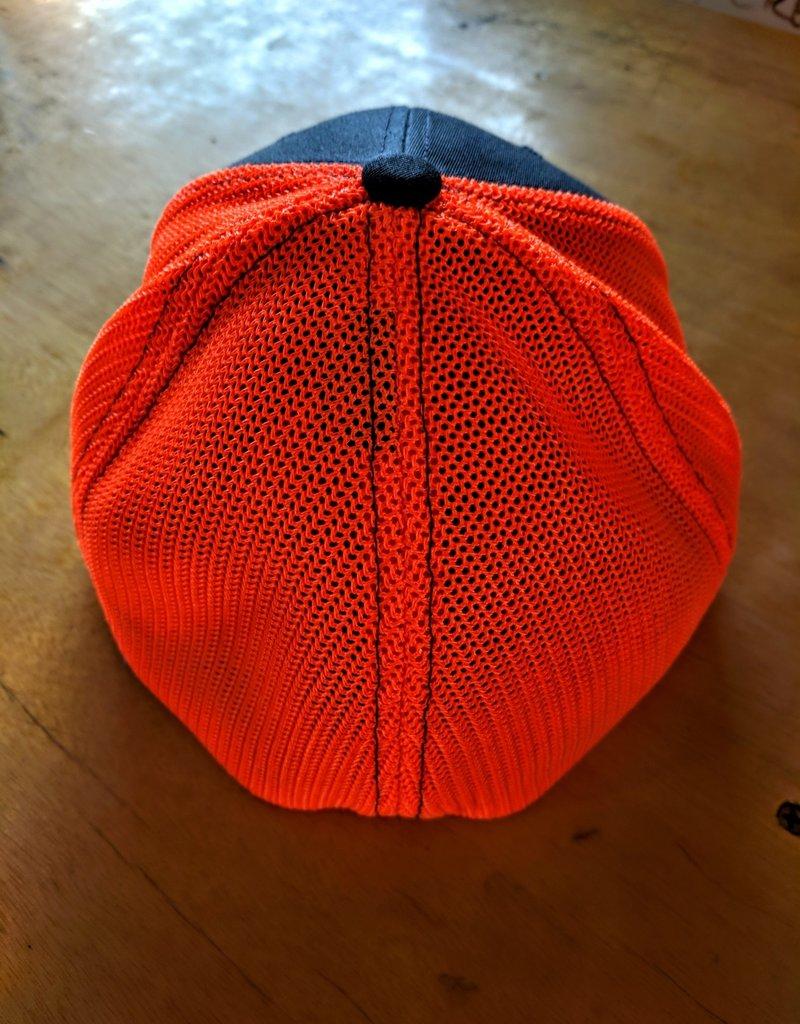 OTE - Line Art Hat - Bright Orange Charcoal - L/XL