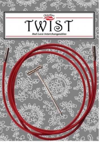 ChiaGoo Twist Red Cable