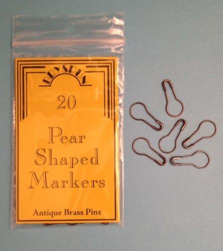 Bryson Pear Pins Brass