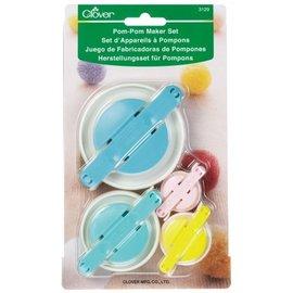 Clover Pom Pom Maker Set 3129