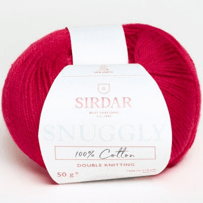 Snuggly Cotton 754 Red disc.
