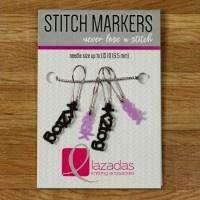 Lazadas Stitch Markers ssk/k2tog