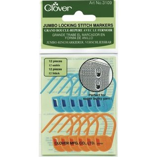 Clover Jumbo Locking Stitch Marker