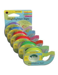 Highlighter Tape Pink