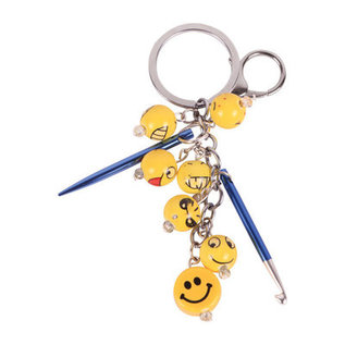KP Knitting Charms Happiness Key Chain