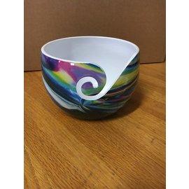 Bryson Yarn Bowl Rainbow Alum