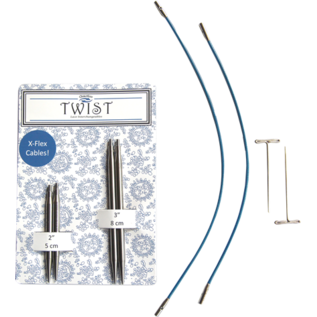 ChiaGoo Red Twist Shorties Combo IC Tip