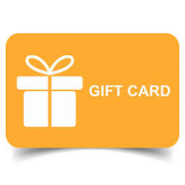 Gift Cards- Digital