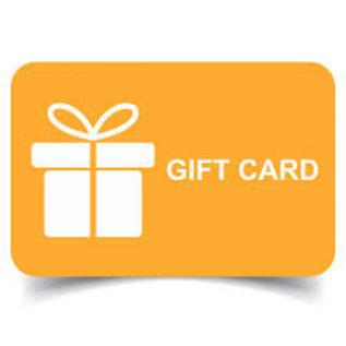 Gift Cards- Digital