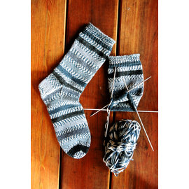 Knitting Pure & Simple Beginner's Mid-Weight Socks