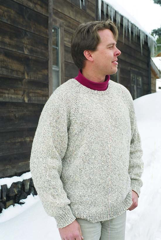 Knitting Pure & Simple Pullover for Men 991