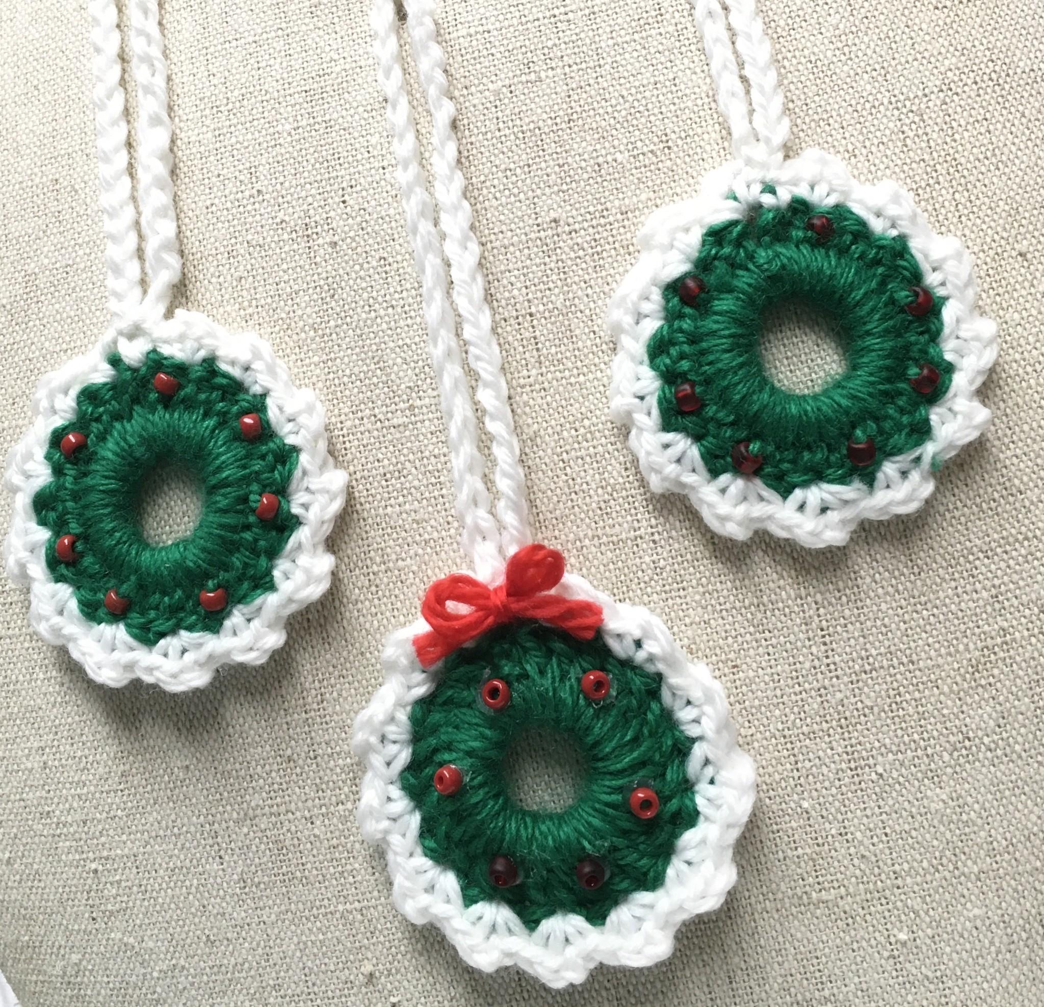 Crochet Wreath Kit 3pcs