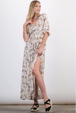 Final Touch floral printed maxi dress