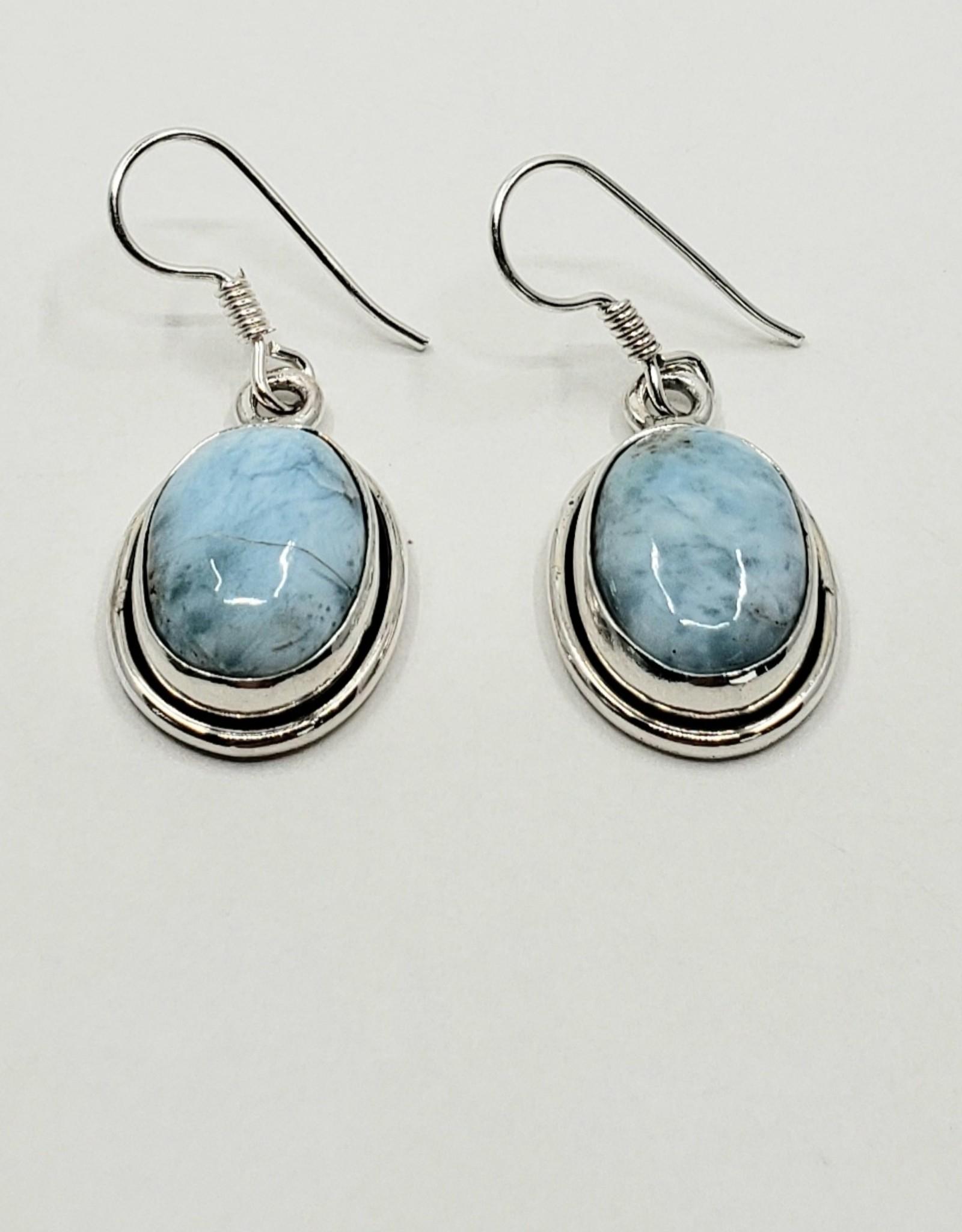 larimar earrings 1
