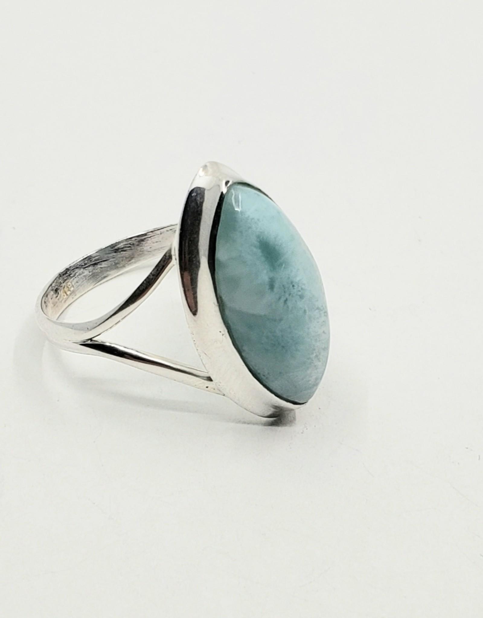 larimar ring size 8.5