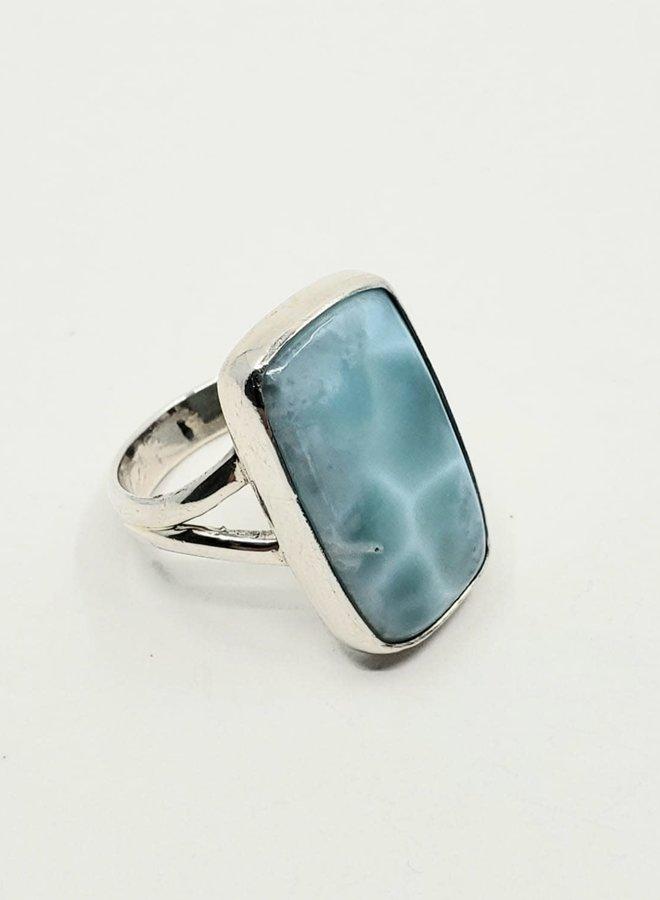 larimar ring size 7
