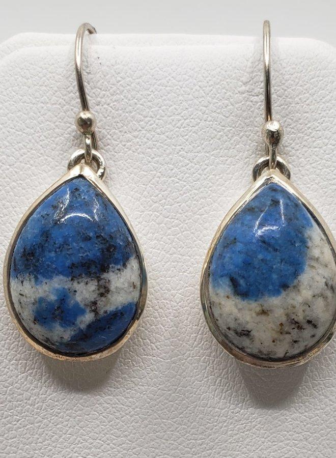 K2 granite earrings