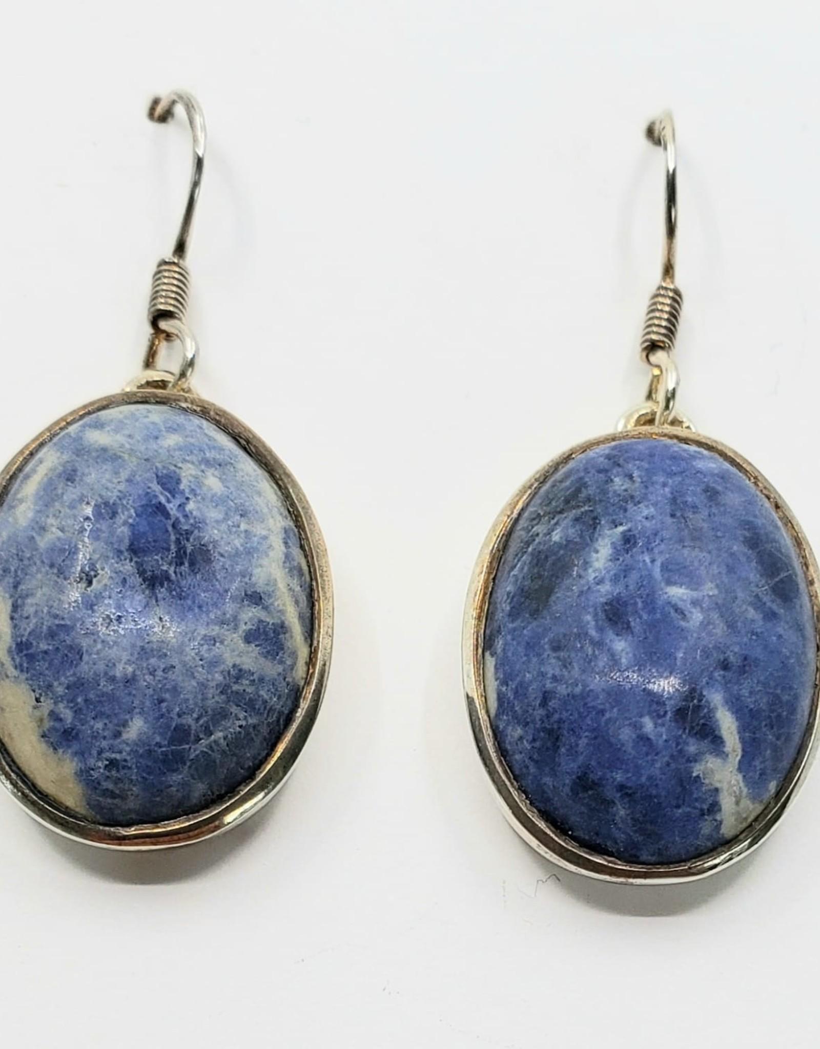 sodalite earrings