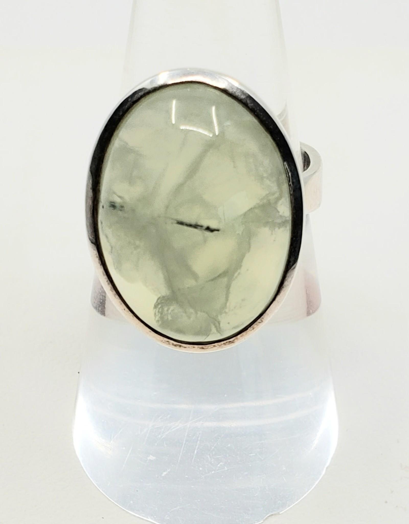 prehnite ring size 7