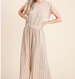 Ces Femme striped jumpsuit