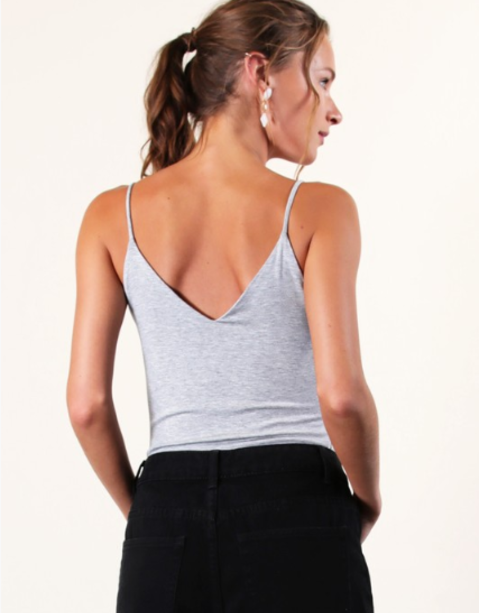 Final Touch v-neck cami top
