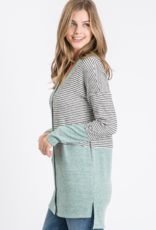 Must Have striped mint sweater top