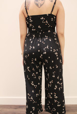 Gilli cropped jumpsuit with side tie