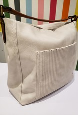 soft slouchy purse beige