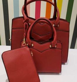 three piece set purse