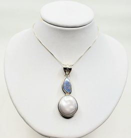 opal and pendant