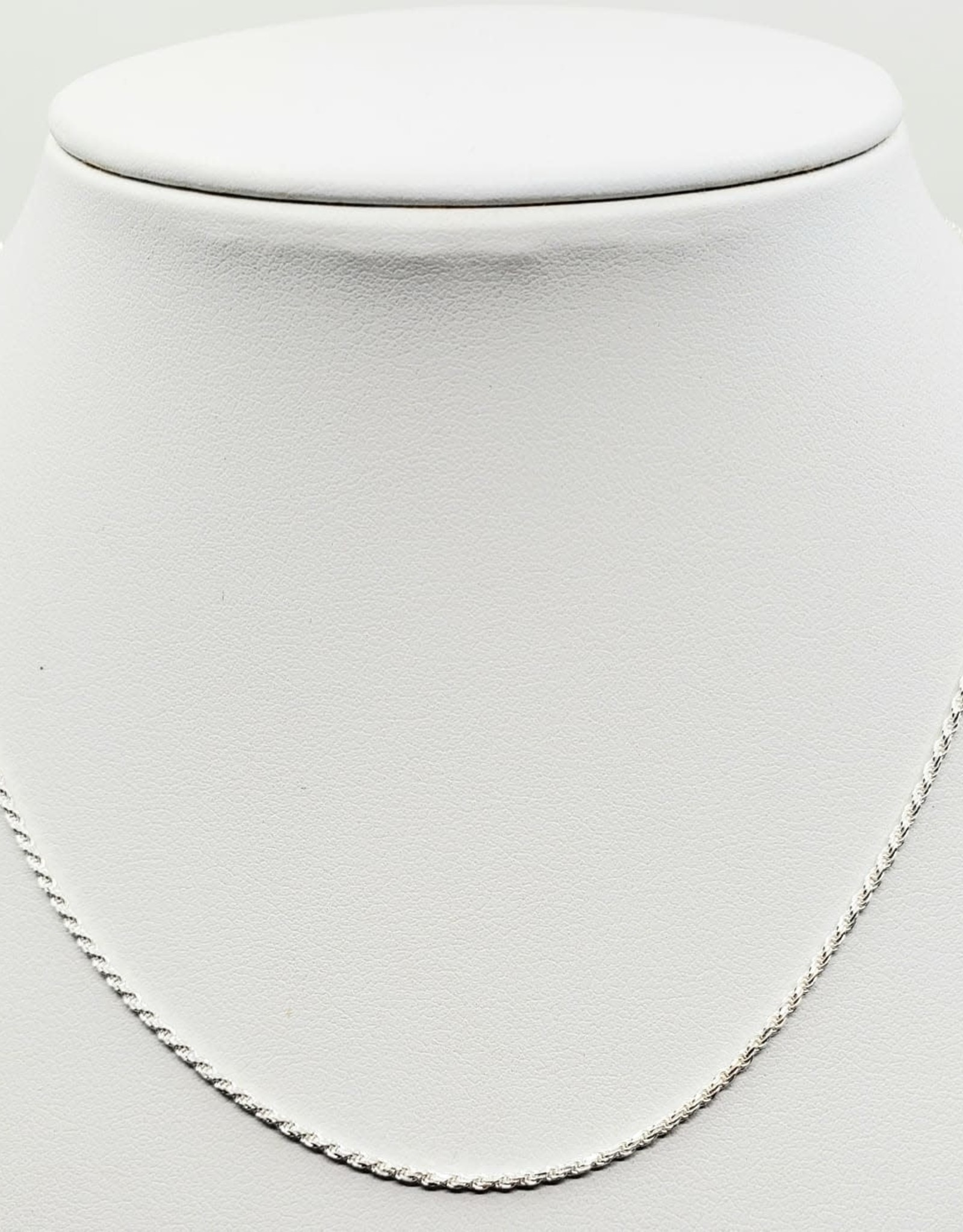 """sterling silver Singapore  chain 16"""""""