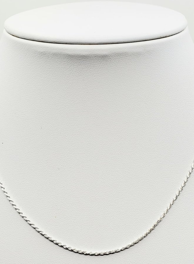 """sterling silver Singapore chain 18"""""""