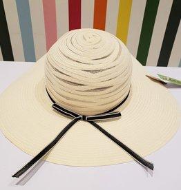large brim straw woven hat