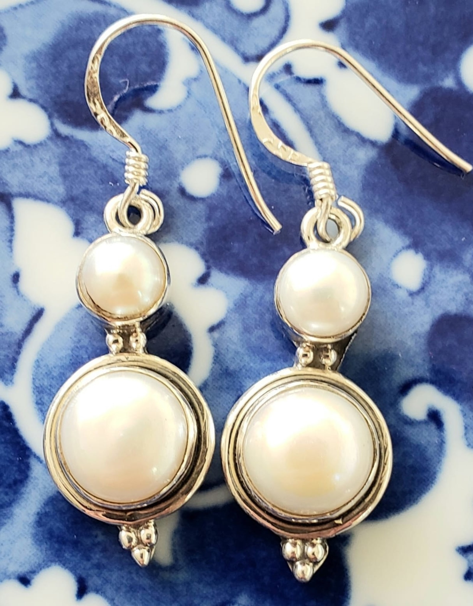 fresh water pearl earrings