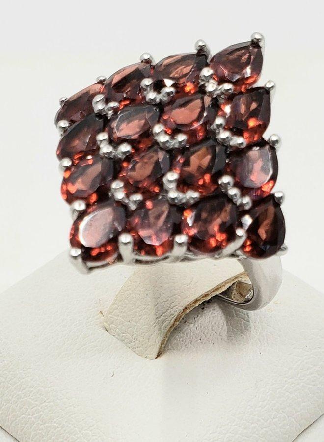 garnet ring size 7