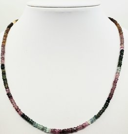 stone necklace tourmaline