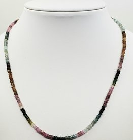 stone necklace tourmaline