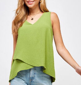 Two Hearts v-neck toop